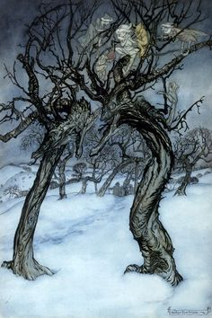 art of the beautiful-grotesque: Visions of Winter : Various Artists