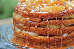 Four Layer Appalachian Stack Cake Recipe Dinner Party Recipes