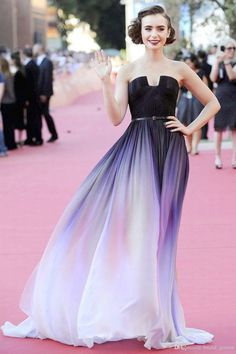 35 Super ideas for dress prom ombre elie saab Evening Dresses For Weddings, Designer Evening Dresses, Women's Evening Dresses, Wedding Dresses, Ombre Prom Dresses, Sequin Bridesmaid Dresses, Strapless Dress Formal, Dress Prom, Party Dress