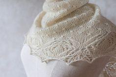 Ravelry: Puaka Shawlette pattern by Francoise Danoy