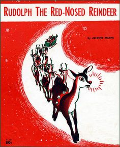 Rudolph the Red-nosed Reindeer vintage sheet music