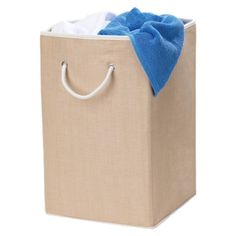 Woven Hamper with Rope Handle - Tan : Target