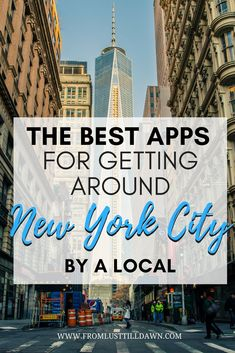 Want to know what NYC subway and travel apps locals use in New York? Check out this list of helpful subway directions and NYC travel apps that I use daily and weekly! | PIN FOR LATER | #nyc #newyorkcity #travelapp #newyork #traveltips #manhattan #newyorktravel via @lusttilldawn