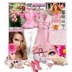 Pretty in Pink- Polyvore