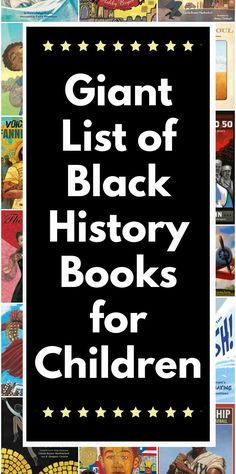 Giant list of children's books about African-Americans to read all year long. Lots of #ownvoices choices and books for preschool through middle school and high school. Reading Resources, Teacher Resources, Great Books To Read, Good Books, Middle School Teachers, High School, Service Projects For Kids, Best Toddler Books, Fiction And Nonfiction