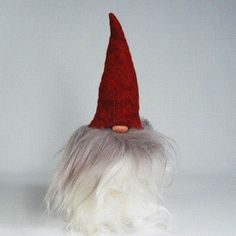 Tomte withBeard & Red Hat