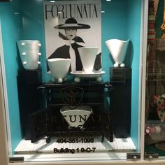 Pulcinella collection window January 2015 #modern #white #atlmkt #atlgiftshow