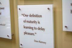 Dave Ramsey..