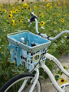 Bike basket liner I want to make this for my new bike