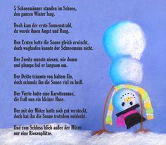 Finger play - five snowmen stood in the snow # snow Finger play - five . - Finger play – Five snowmen stood in the snow Finger play – Five snowmen stood in the snow - Curriculum, Homeschool, Finger Plays, Thanks Card, Hand Hygiene, Winter Makeup, Winter Flowers, German Language, Winter Wonderland