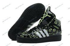 efc8bc8c6ea7 Adidas Jeremy Scott Black Women s Running Shoes adidas neo shoes