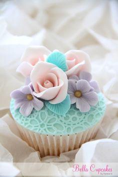 Bella Cupcakes: Vintage inspired cupcake~❥