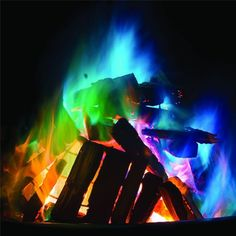 Mystical Coloured Fire Dust - from Flamingo Gifts UK