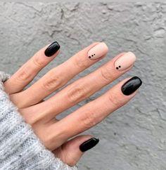 Short Square Nails, Short Nails, Long Nails, Nagellack Design, Gray Nails, Chrome Nails, Nails Inc, Stylish Nails, Sally Hansen