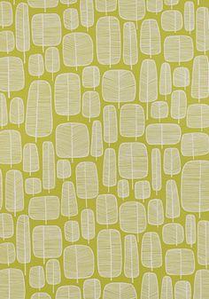 Little Trees Moss Wallpaper