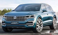 Volkswagen Previews Next-Generation Touareg with T-Prime Concept GTE - AutoConception.com