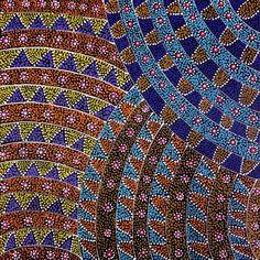 Australian Aboriginal Art Dot Paintings Symbols Aboriginal Artwork Drawings & Sculpture