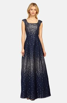 b23394268e Kay Unger Metallic Taffeta Gown available at  Nordstrom