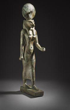 Figurine of the goddess Wadjet, 26 Dynasty, ca. 664-525 B.C.