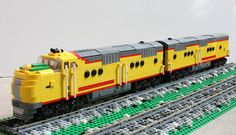 Union Pacific E2 AB set | Flickr - Photo Sharing!