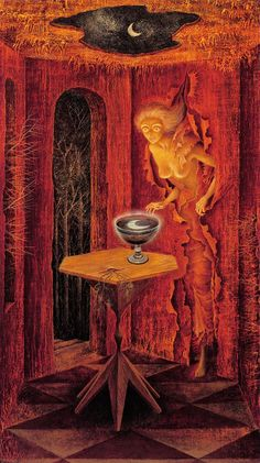 Leonora Carrington All of her work is f*** awesome !!!! Thk u Miss A for the discovery :)