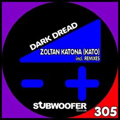 "Zoltan Katona (Kato) ""Dark Dread"" EP feat. DJ Style on Subwoofer Records (Milan, Italy). Dreaded remixes by Amir Razanica, Francesco Bove, Maiick, DJ Style. At #12 on Beatport Top 100 Hardcore / Hard Techno Releases chart!"