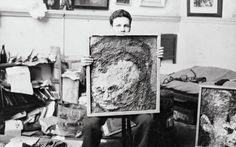 Frank Auerbach: Speaking and Painting. By Catherine Lampert Frank Auerbach, Tate Britain, Artist Studios, Holiday Time, Artists, Painting, Painting Art, Paintings, Painted Canvas