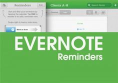 Evernote Reminders are finally here!