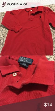 Red polo shirt No stains Polo by Ralph Lauren Shirts & Tops Polos