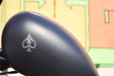HARLEY DAVIDSON S&S PANHEAD FULL BLACK