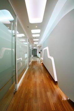 Office interior design: Cella Clinic in South Korea