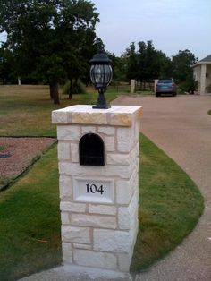 Image Detail for - stone mailbox