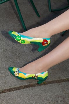 Angry birds shoes!!!