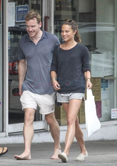 Michael Fassbender goes barefoot as he joins new girlfriend Alicia Vikander for… Michael Fassbender And Alicia Vikander, A Royal Affair, The Danish Girl, Swedish Actresses, Hollywood Girls, Ex Machina, New Girlfriend, Marvel, Celebs