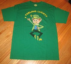 Lucky Charms T-Shirt General Mills sz. M 100% cotton