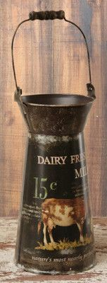 Fresh Milk Pail  from Country Craft House