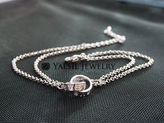 Love Rings Bracelet Cartier Style Rings Infinity by YaesilJewelry