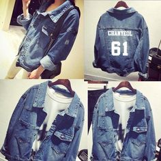 >> Click to Buy << kpop EXO Chanyeol Sehun DO Chen Good Qquality Denim Jacket Chaqueta Jeans #Affiliate