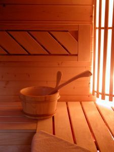 I'd ♥♥♥ to have a sauna