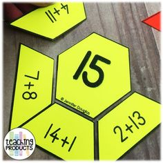 Math Puzzles Addition to 20 - Classroom Freebies Math puzzles to teach addition facts to twenty. Fun and engaging for students, these versatile puzzles are a great addition to your math lessons. Classroom Freebies, Math Classroom, Grade 3 Classroom Ideas, Classroom Decor, Maths Puzzles, Math Activities, Maths Games Ks1, Maths Resources, Leadership Activities