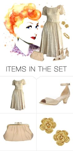 """She Could Make You Laugh 'til You Cried!"" by krusie ❤ liked on Polyvore featuring art"
