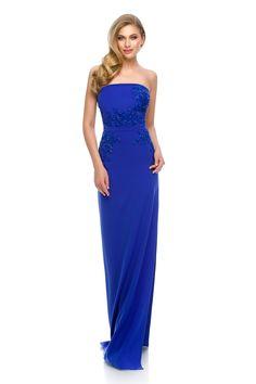 Electrifying beauty 💛 💙 💜 ORIANA evening dress by Athena Philip >>> www. Glamorous Evening Dresses, Luxury Dress, Prom Dresses, Formal Dresses, Bristol, Glamour, Elegant, Color