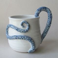 I also like this version of a blue/white tentacle cup of cute tentacle rape