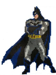 Perler Bead Batman by SrsBeadsness on Etsy, $18.00