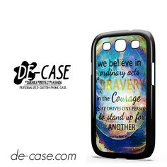 Divergent Dauntless Quote Nebula DEAL-3471 Samsung Phonecase Cover For Samsung Galaxy S3 / S3 Mini