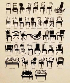 A Photo Guide to Antique Chair Identification | Pinterest | Antique ...