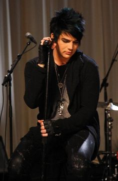 Adam Lambert    One of my all time favorite singers. He has inspired my life in many ways and I am grateful for his music.