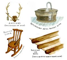 12 things to make your home rustic