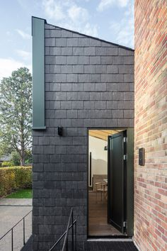 Aluminium Cladding, Wall Cladding, Clay Studio, Ceramic Studio, Concrete Cover, Truss Structure, Cladding Materials, Timber Roof, White Brick Walls