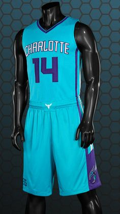 The Charlotte Hornets will have three uniforms this season – primarily white  at home 9095863c3